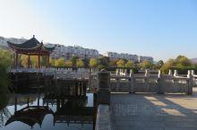 """骑着""""松果""""去找吃的,来到了弋阳县文化休闲公园。这是一个小巧雅致的公园,建在弋阳县政府的门前。它的精"""