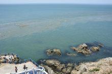 黄渤海分界线,海中一条黄色水带把黄海与渤海清晰分开