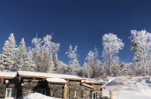 亚布力的大雪真壮观
