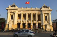 河内大剧院,一座漂亮的建筑。