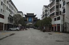 文博园对面的商业街