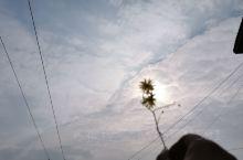 南部乡里抬头可见的天空