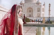 印度泰姬陵照片这样拍|穿纱丽看世界奇迹建筑   你宁愿听任皇权消失,却希望使一滴爱的泪珠永存