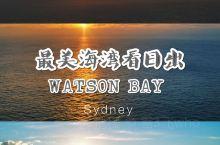 悉尼小众海湾打卡│Watson Bay看最美日出  不想看游人如织的bondi beach,不想去d