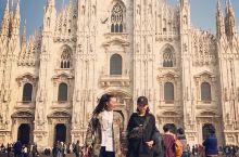 意大利 米兰大教堂 Duomo di milano 作为世界五大教堂之一  规模居世界第二 在180