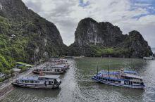 越南下龙湾之旅 落地河内朋友安排了商务车接到下龙湾,车程两小时左右,中间会有休息站。 未到越南时,身