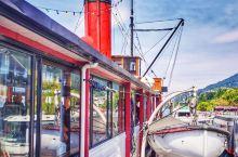 TSS厄恩斯劳号蒸汽船和瓦尔特高原牧场一日游~ 船真的是古老的蒸汽船,所以上层舱内前部特别热,夏天来
