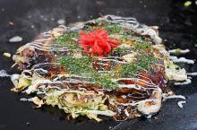 【冈山・日生牡蛎烧】  冈山日生地区的牡蛎烧(カキお好み焼き),当地人简称KAKIOKO(カキオコ)