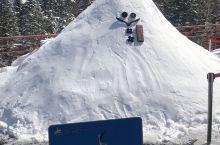 新穗高缆车,雪还没化