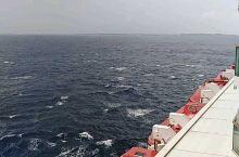 浪大,船长取消靠岸了。