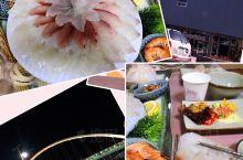 강릉 韩国周边海鲜最好的地方 特别是生鱼片 特别新鲜 价格在人民币 500两人 性价比高 肉肥 量多