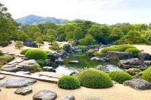 足立美术馆完结篇。1-4名为-白砂青松庭,是以横山大观的-白沙青松 为主题,以砂松起伏来搭配。图7是