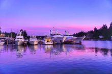 美国西雅图秀丽风光 西雅图距离美国北部边界仅有不到两百里的距离,跟加拿大温哥华隔着边境线相望。  西
