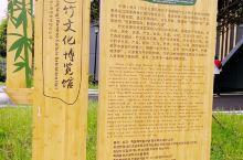 景区入口的另一侧有中国(桃江)竹文化博览馆,馆内收集了包括家具、什物、乐器、书画等竹制品。我对馆中的