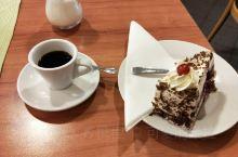 德国罗滕堡的黑森林蛋糕