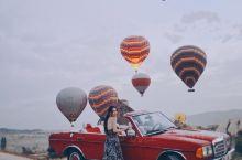 我在卡帕多奇亚热气球