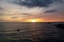 海南的黄昏景色如此美丽,