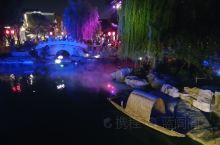 洛邑古城夜景
