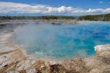 美国黄石国家公园大棱镜世界第三大温泉