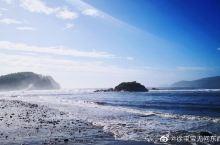 【朝鲜罗津先锋特区】在美丽的琵琶岛眺望汹涌澎湃浩瀚无垠的朝鲜东海  朝鲜东海在版图上被注为日本