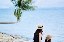 新加坡亲子游|巴拉湾海滩Palawan beach 亚洲最南端看海 小岛位于著名的圣淘沙岛名胜世界,