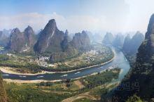 阳朔堪比甲桂林~相公山上俯瞰整个漓江尽收眼底~遇龙河漂流身临其境~美哉美哉!