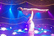 普陀山剧院里表演的集声光电于一体的舞蹈《南海观音》,表现了善行善为,观心自在的主题,票价178元/位