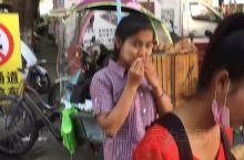 缅甸女孩 姐告边境贸易区