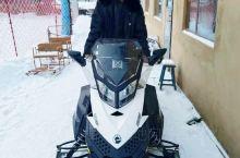 雪乡雪地摩托
