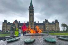 【渥太华】加拿大首都。必去景点自然少不了国会山,囯家美术馆,圣母大教堂,总督府,里多运河。