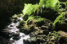 是一处非常优美景色它结合了热带雨林、河流瀑布、峡谷溶洞等多种景观的自然风景名胜区,也是靖西有名景点之