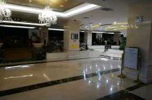 敦化万豪国际酒店的大堂,晚上非常安静。