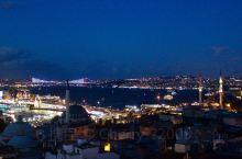 博斯普鲁斯海峡夜色