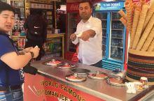 """在土耳其伊斯坦布尔买冰淇淋被""""玩弄""""了"""