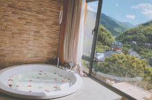 杭州临安坡心橼舍民宿必须打卡,慕名前往,甚是满意!房间有观景浴缸,用品都很好很新,房间每间可以看到远