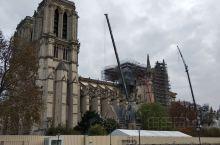 烧火过的巴黎圣母院
