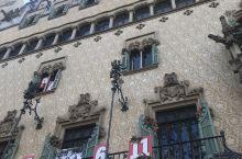 行走在巴塞罗那的街头