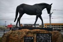 新冠町·北海道  在北海道,沿太平洋海岸线跑,在新冠町.道の駅(休息站),竞无意中,发现了北海道赛马