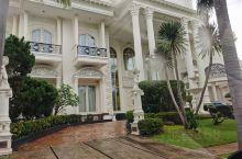 参观东南亚热带岛国的别墅区,豪华大气