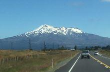 新西兰北島雪山与沙漠