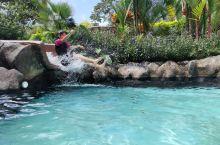 Hotel Los Lagos 温泉特辑!酒店温泉设施齐全,尤其是各式各样的滑梯,深收一家三口人的喜