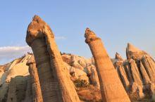 卡帕多奇亚的喀斯特地貌景观