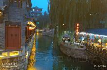 滦州古城,仿江南水乡风格的仿古商业区,感觉还不错,值得一游