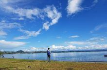 2018年春节选择自驾前往新西兰开始夏季旅游,位于北岛的罗托鲁瓦纽西兰最大的火山堰塞湖陶波湖一游,这