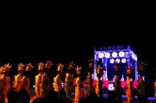 """山鹿市,传统文化""""灯笼节""""的千人灯笼女们,陆续进入会场!"""