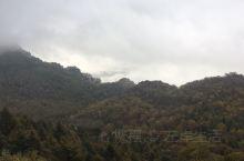 下山前看到的云雾涌动,不禁停下脚步,闲庭信步看那云卷云舒