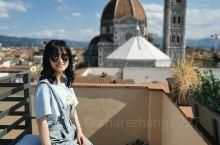 十年重回意大利 圣母百花大教堂,坐在阳台上观赏和在米开朗琪罗广场远观时不同的感受,如果那天行李没有丢