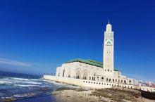 卡萨布兰卡,第一次入内清真寺,如此恢宏气魄