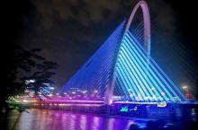 最美浐灞彩虹桥,不一样的西安