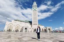 哈桑二世清真寺 世界第三大清真寺 被这座世界上最大的水上清真寺震撼到了,在这里我们经历了晴天、阴天和